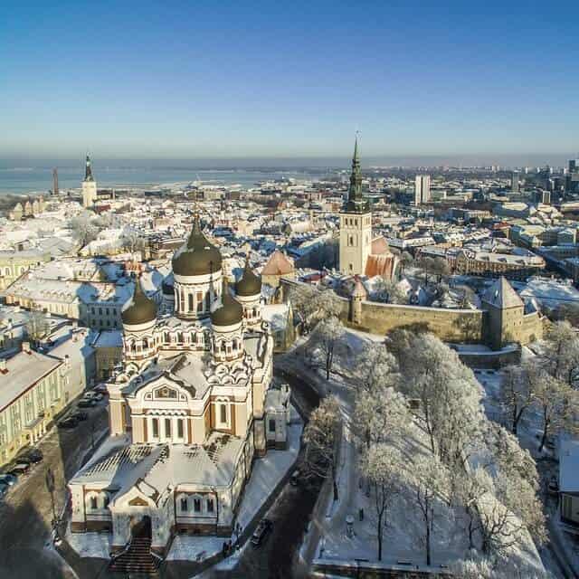 טאלין אסטוניה ביום אחד